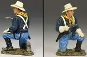 King And Country John Ford's Cavalry Kx021 U.s. Cavalry Trooper Kneeling Pistol Mb