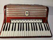 Weltmeister 120 Bass Full Size Piano Accordion With Case Made In Germany