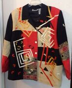 Maggie Barnes Jacket Plus Size 26wp Wearable Art Op Career Catherineand039s Funky