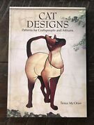 Cat Designs Stained Glass Pattern Art Book Craftsman And Artisans Tessa Mconie