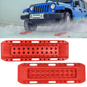 2x Recovery Tracks Sand Rescue 10t Tracks Traction Snow Tire Off Road Ladder 4wd