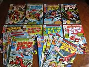 Marvel  The Human Fly Lot 's 1 - 18 18 Great Issues 1975 1st App.