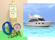 Marine, For Dometic Air Conditioning, A/c, R22, Refrigerant, 28 Oz, Recharge Kit