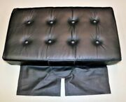 Piper J3 Cub Leather Aft Bottom Seat Cushion 2 Inches Normal Thickness