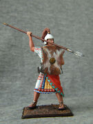 Egyptian Warrior With A Spear. Elite Tin Soldiers 54 Mm. St. Petersburg
