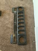 International Scout Ii Ss Front Grill Shell Surround And Lower Valance