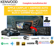 Kenwood Dnx9190dabs For Porsche Boxster 1998-2004 986 Stereo Upgrade