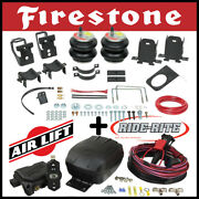 Firestone Ride Rite Air Kit And Airlift Compressor For Ford F-250 F-350 Super Duty