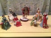 Royal Doulton King Henry Viii And 6 Wives -mint-all With Coa -1991- Full Rare Set