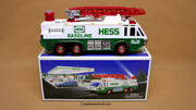 Hess 1996 Emergency Truck Includes Original Box New In Box Never Displayed