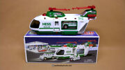 Hess 2001 Helicopter  Includes Original Box New In Box Never Displayed