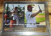 2016 Luke Voit Springfield Cardinals Rc 🔥🔥very Rare And Hot Commodity🔥🔥