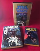 1976/77 Star Wars Signed 1st Printing X 3 First Trade Pb And Bce W/ Dj S27