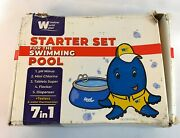 Window World Water Basic Pool Starter Set For Swimming Pool Treatment 7 In 1