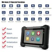 All System Obd2 Scanner Diagnostic Tool Ecu Coding Learn Dpf Tpms + 8and039and039 Tablet