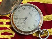 Zentra Vintage Pocket Watch Gold Plating Mechanical Watches
