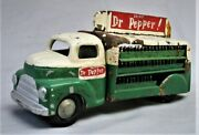 Hand Made Dr. Pepper Bottle Delivery Truck - Hand Made One Of A Kind