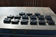 Used Tool Holder Express Machinist Hold Down Clamps 15 Pcs - 6