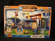 Nickelodeon Rusty Rivets Lab Playset Lights And Sound New Toys R Us Exclusive