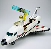 Lego 3367- Space Shuttle- Town City Space Port- 100 Complete -2 Decals