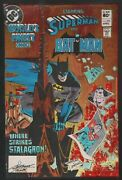 Wfc Superman Batman 290 Hand Color Production Art Cover Signed Anthony Tollin