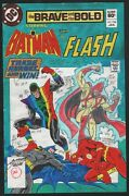 Brave And The Bold Batman Flash 194 Production Art Cover Signed Anthony Tollin