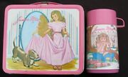 Vintage Junior Miss Lunchbox And Thermos - Basset Hound 1978 C-8.5/9.0 Minty