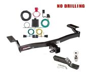 Class 3 Trailer Hitch Package W 2 Ball For 2007-2010 Ford Edge, Lincoln Mkx