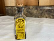 Vintage California Perfume Co Perfection Concentrated Coloring Blue Bottle