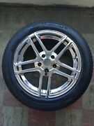 4 Used 17 American Racing Rims And Tires-minor Rash On 2 Rims-clean Otherwise
