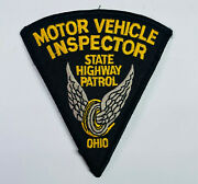 Motor Vehicle Inspector Ohio State Highway Patrol Patch A2