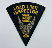 Load Limit Inspector Ohio State Highway Patrol Patch A2-a
