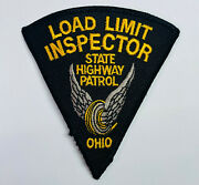 Load Limit Inspector Ohio State Highway Patrol Patch A2-b