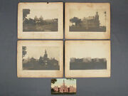 4 Antique Photographs Illinois Afmc Asylum Lincoln State School And Colony Iafmc