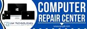 See Through Windows Decals Computer Repair Centre Customized With Your Logo