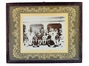 Indian Royal Family Decorative Collectible Black And White Photograph. I57-85 Us