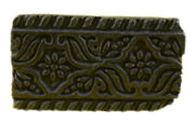 Vintage Rare Handcrafted Design Wooden Textile-clay Printing Block. I77-86 Us