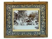 Indian Vintage Old Royal Family Black And White Photograph Collectible. I57-87 Us