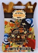 Disney 2018 Not So Scary Halloween Party Mickey And Minnie Logo Pin Limited Cute