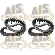 Two New 400x86cx52 Rubber Tracks Fits John Deere 323d And 323e