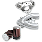 Sands Cycle - 170-0085 - Tuned Induction Kit Chrome Harley-davidson Fat Boy Lo Fl