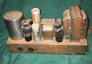 E.h. Scott Radio Model 16 Power Amplifier Chassis Parts Or Restore