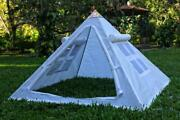 Copper Giza Lite Duty 6 Feet Meditation Pyramid For Self Healing With Tent