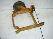 Allis Chalmers Simplicity 157034 Seat Support With Idler Big 10 Tractor
