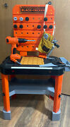 Huge Lot Of 45 Black And Decker Play Pretend Toy Tools Drill Hammer Plastic Kids