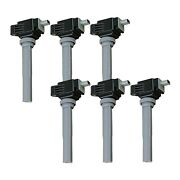 Set Of 6 Oem Ignition Coil C2053-uf773 For Ford Lincoln Continental Edge 15-20