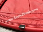Jeep Grand Cherokee Limited Overland Custom Red Leather Seat Replacement Covers