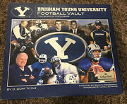 Brigham Young University Byu Football Vault Book The History Of The Cougars