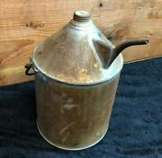 Rare Antique Oil Can Cmst Pandr Chicago Milwaukee St. Paul And Pacific Railroad