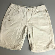 Columbia Womans Beige Shorts Size 6 A15